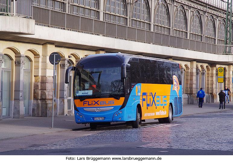 Flixbus Haltestelle Regensburg