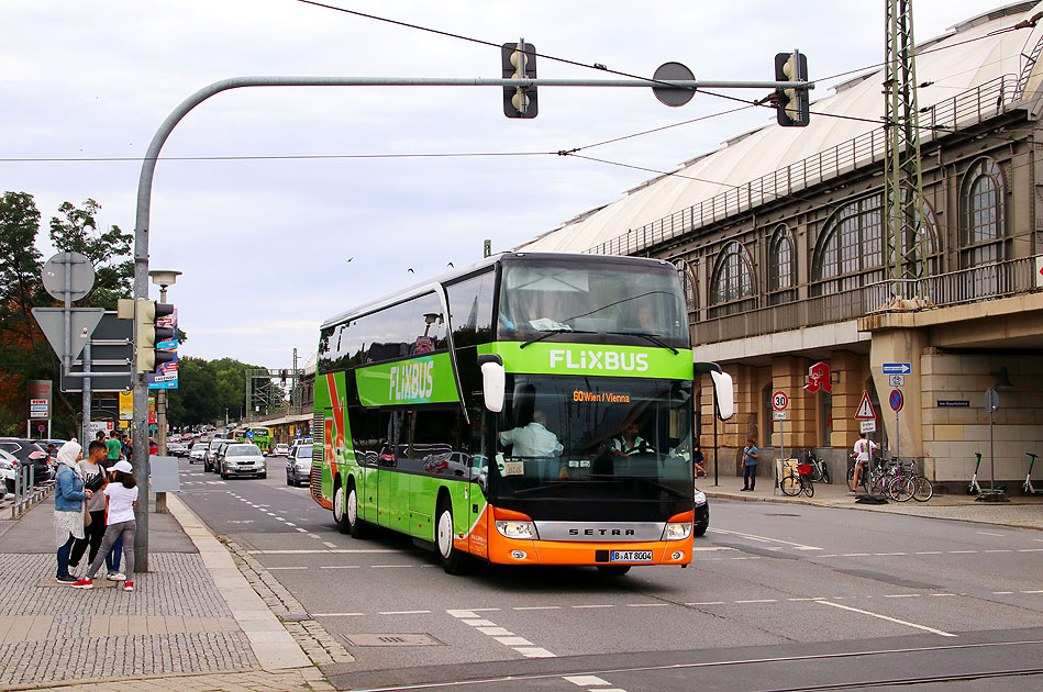 Fernbus Prag