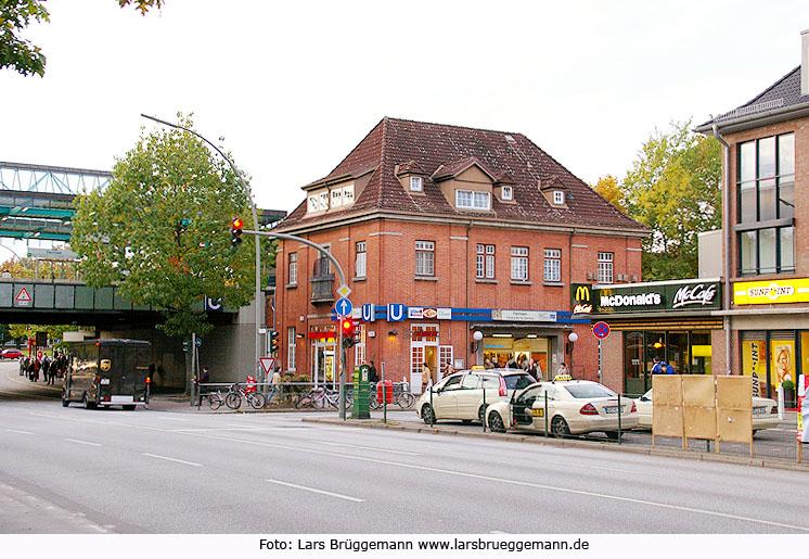 Ie Haltestelle Farmsen Der Hamburger U Bahn Fotos Von