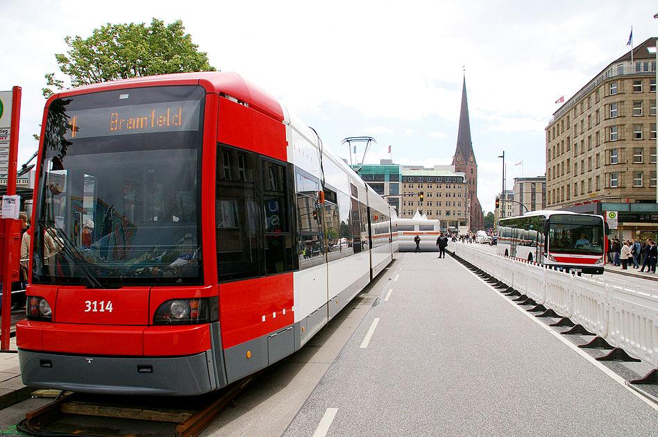Hamburg Straßenbahn