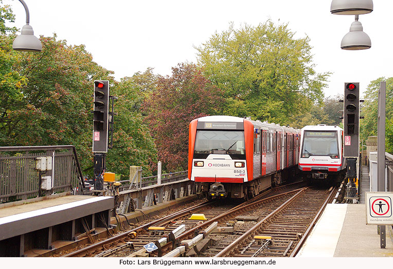 U Bahn Mundsburg
